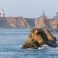 Cape Arago Lighthouse by Betty LaRue