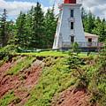 Cape Bear Lighthouse - 2 by Nikolyn McDonald