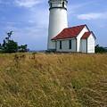 Cape Blanco Light by Winston Rockwell