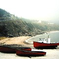Cape Breton Fishing Boats by Will Borden
