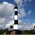 Cape Canaveral Light Florida by Allan  Hughes