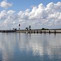 Cape Canaveral Locks In Florida by Allan  Hughes
