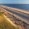Cape Cod Bay Beach Truro by John Burk