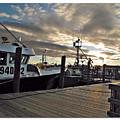 Cape Cod Harbor by Joan  Minchak
