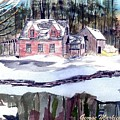 Cape Cod House by George Markiewicz