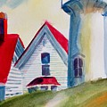 Cape Cod Light House by Linda Emerson