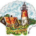 Cape Cod Lighthouse by Monique Faella