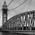 Cape Cod Railroad Bridge I Bw by David Gordon