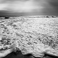 Cape Cod Surf Bw by Bill Wakeley