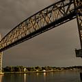 Cape Cod Train Bridge by Michelle Himes