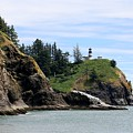Cape Disappointment Lighthouse by Christy Pooschke