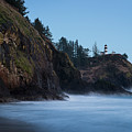 Cape Disappointment At Dusk by Robert Potts