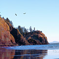 Cape Disappointment Lighthouse by Jeanette Mahoney