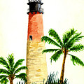 Cape Florida Lighthouse by Michael Vigliotti