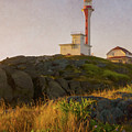 Cape Forchu Nova Scotia by Garvin Hunter