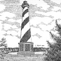 Cape Hatteras Lighthouse by Lawrence Tripoli