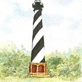 Cape Hatteras Lighthouse by Mary Dunham Walters