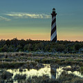 Cape Hatteras Sunset by Donald Brown