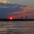 Cape Henry Sunset by Don Mercer