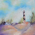 Cape Lookout Lighthouse by Donna Pierce-Clark