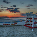 Cape May At Sunrise - Cape May New Jersey by Bill Cannon