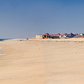 Cape May Beach Panorama New Jersey by George Oze