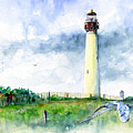 Cape May Lighthouse by John D Benson