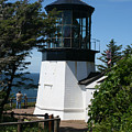 Cape Meares Lighthouse Li 100 by Mary Gaines