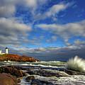 Cape Neddick Lighthouse by Rick Berk