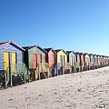 Cape Town Beachhuts by Linda Russell