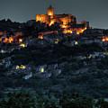 Capestrano Abruzzo Italy by Tom  Doherty