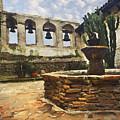 Capistrano Fountain by Sharon Foster