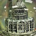 Capital Snow Globe  by John S