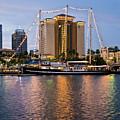 Capitan Miranda In Tampa by Steven Sparks
