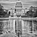 Capitol Hill Pond by Val Black Russian Tourchin