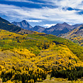 Capitol Peak In Fall Color by Teri Virbickis