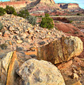 Capitol Reef Boulders by Ray Mathis
