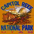 Capitol Reef National Park Utah by David G Paul