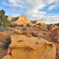 Capitol Reef Sunset Clouds by Ray Mathis