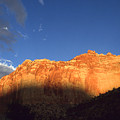 Capitol Reef Utah At Sunset by Peter Potter