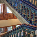 Capitol Stairwell by Tom Weisbrook
