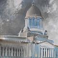 Capitol Turmoil by Gregg Caudell