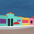 Capitola Venetian- Art By Linda Woods by Linda Woods