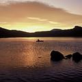 Caples Lake by JOANNE McCubrey