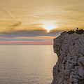 Capo Caccia's Cliff by Nicola Maria Mietta