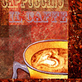 Cappuccino by Irina Sztukowski