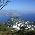 Capri At The Top by Dennis Curry