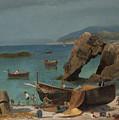 Capri Beach by Celestial Images