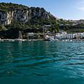 Capri Island Silky Smooth Emerald And Aquamarine by Georgia Mizuleva