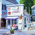 Capt. Dusty's Ice Cream by Michael McDougall